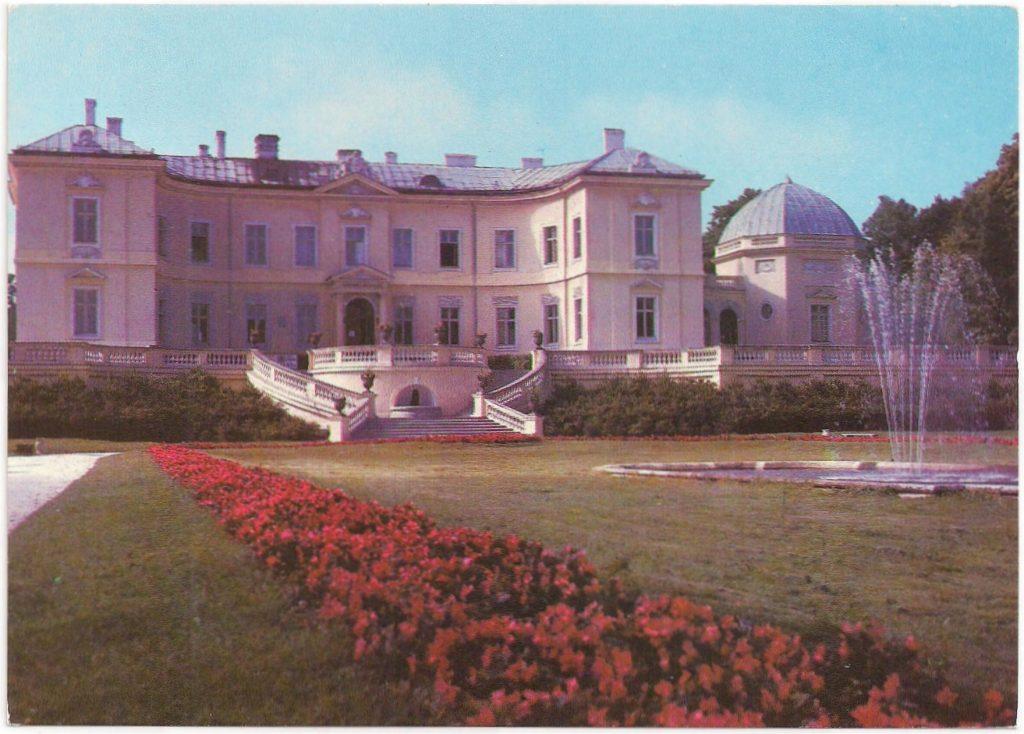 Postwaardestuk, uitgegeven 08.10.81 Op de adreszijde staat links bovenaan aangegeven: ' Lietuvos TSR. Palanga. Gintaro Muziejus', Palanga. Amber Museum.