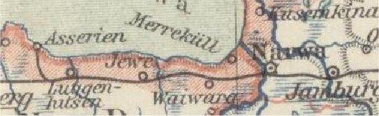 Detail van een kaart uit Meyers Konv. Lexikon, 6. Aufl, 1905-1909.